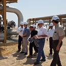 Managing Director of Petropars Group Pays a 10-Hour Visit to South Azadegan Project