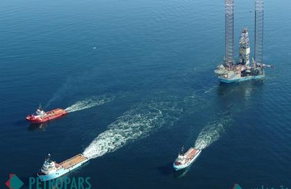 Establishment of MD-1 Rig for Drilling Phase 11 of South Pars in the Persian Gulf